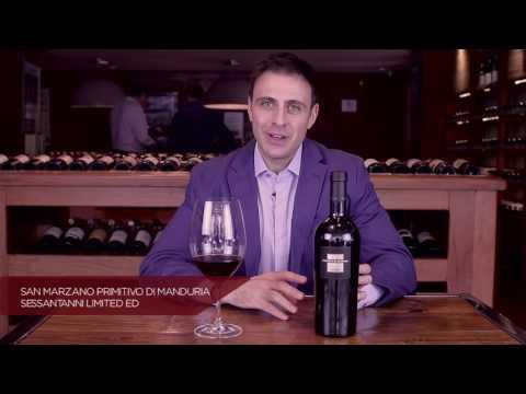 Sommelier Grand Cru: Vinho Tinto San Marzano Sessant'Anni Primitivo di Manduria - Massimo Leoncini