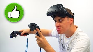 Вся ПРАВДА о виртуальной РЕАЛЬНОСТИ!  VR шлем HTC Vive