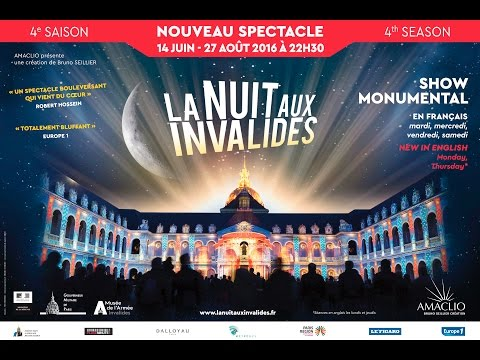 La Nuit aux Invalides 2016 : teaser