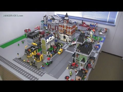 OLD Video! Updates on my channel! A look at my *second* LEGO city! Apr. 11, 2014