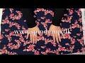 Se produktvideoen til Økologisk jogging med kirsebærtræblomster - navy på YouTube