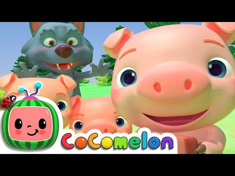 , title : 'Three Little Pigs | CoComelon Nursery Rhymes & Kids Songs