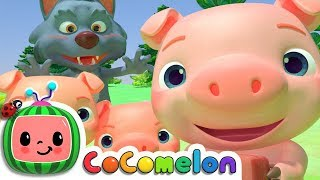 Three Little Pigs | Cocomelon (ABCkidTV) Nursery Rhymes & Kids Songs