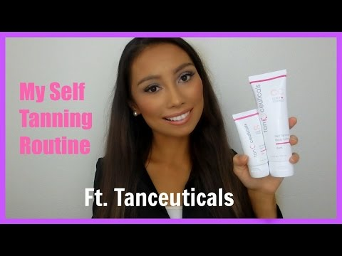 My Self Tanning Routine Ft. Tanceuticals