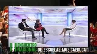 Entrevista en Onda Jaén a Cristina García, sobre el III Encuentro Nacional de Musicaeduca
