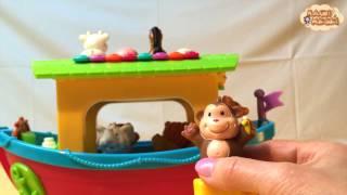 Állatokat hoz a hajó