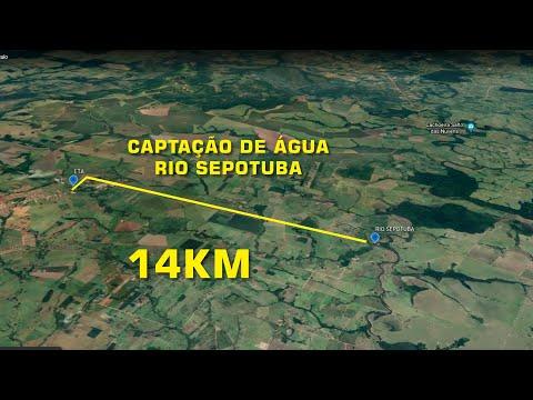 Prefeito anuncia abertura do processo licitatório da tubulação para captação de água do Sepotuba