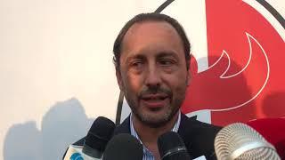"""SSC Bari presenta logo, squadra e campagna abbonamenti. De Laurentiis: """"Sfida importante"""""""