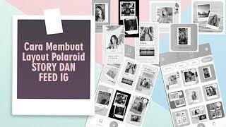 Cara Membuat Layout Foto Polaroid Kekinian untuk Feed dan Story IG