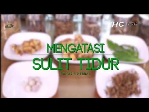 Video Tips ramuan herbal untuk mengatasi sulit tidur atau insomnia