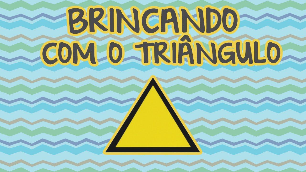 BRINCANDO COM O TRIÂNGULO | BEBÊ MAIS FORMAS