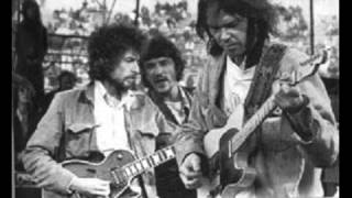 Neil Young and Bob Dylan - Helpless + Knockin' on Heaven's Door 1975