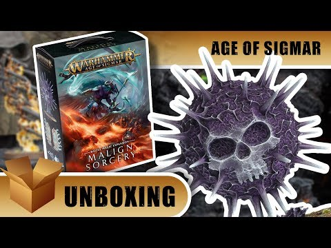 Warhammer Age of Sigmar Unboxing: Malign Sorcery