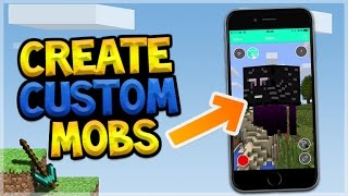 Gambar cover CREATE YOUR OWN CUSTOM MOBS IN MINECRAFT POCKET EDITION!