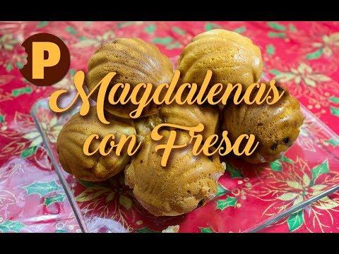 Vídeo Magdalenas de Fresas