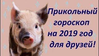 Прикольный гороскоп 2019год друзьям! Шуточный астропрогноз от Энергии Жизни