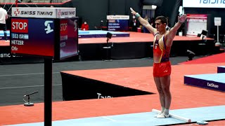 Marian Dragulescu (ROU) - Vault - 2021 World Championships - Podium Training