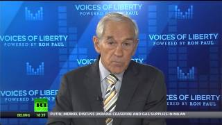 Ron Paul: Ebola panic is much more dangerous than the disease itself