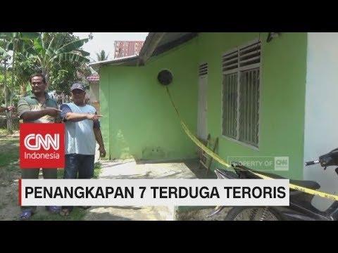 Densus 88 Tangkap 7 Orang Terduga Teroris di Sumatera Selatan