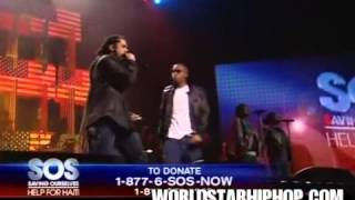 Damian Marley & Busta Rhymes & Nas   'Strong Will Continue' Live