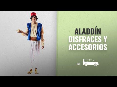 10 Mejores Disfraces Y Accesorios De Aladdín : Disfraz de Aladino para hombre