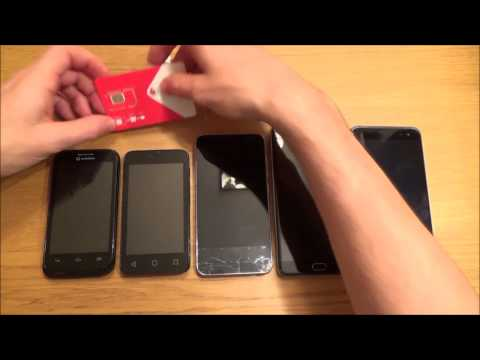 Download How to INSERT / REMOVE a SIM card in various MOBILE  CELL PHONES Mp4 HD Video and MP3