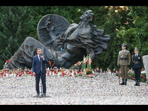 Przemówienie Prezydenta Andrzeja Dudy podczas obchodów 72. rocznicy Powstania Warszawskiego