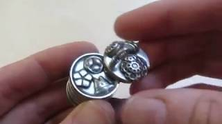 Micropaleontology, Microfossils Kinetic Keychain