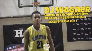 7th Grader DJ Wagner Brings His Elite Scoring Skills To Bballspotlight's Clash For The Cup 2018 !!