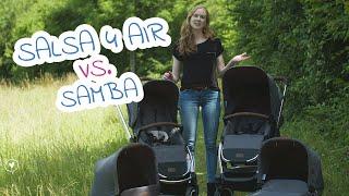 ABC Design Salsa 4 Air vs. Samba | Welcher Wagen ist besser? | babyartikel.de