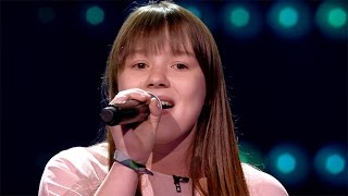 Angel Pink - 'Like I'm Gonna Lose You'   Blind Auditions   The Voice Kids   VTM