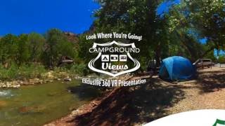 Big Bend Campground Moab Utah UT BLM 360 VR 4k