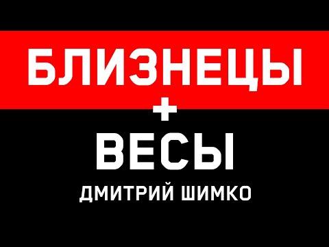 БЛИЗНЕЦЫ+ВЕСЫ - Совместимость - Астротиполог Дмитрий Шимко