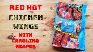 Iceland Foods Red Hot Wings with Carolina Reaper Chilli