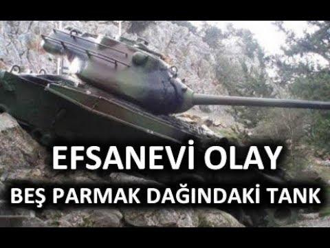 Kıbrıs Barış Harekatında Beş Parmak Dağlarında Kalan TANK (#TarihBelgeseli)