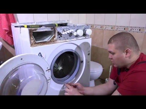 Замена подшипников в стиральной машине BEKO (Часть 1)