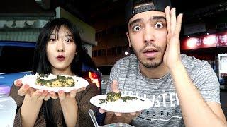 شوفوا ردة فعلها لما أكلت الملوخية لأول مرة !!