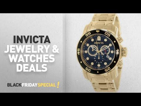 Walmart Top Black Friday Invicta Jewelry & Watches Deals: Invicta Men's Pro Diver 0072 Gold