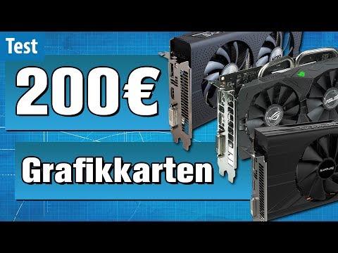 Die besten Gaming-Grafikkarten UNTER 200 EURO im Test | #Gaming-PC