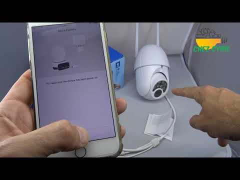 Camera IP V380 étanche et motorisée extérieure pour moins de 40 euros