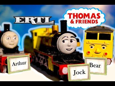 Thomas & Friends ERTL JOCK, BEAR, & ARTHUR Unboxing - Vintage Metal 1980s 90s Diecast Toys