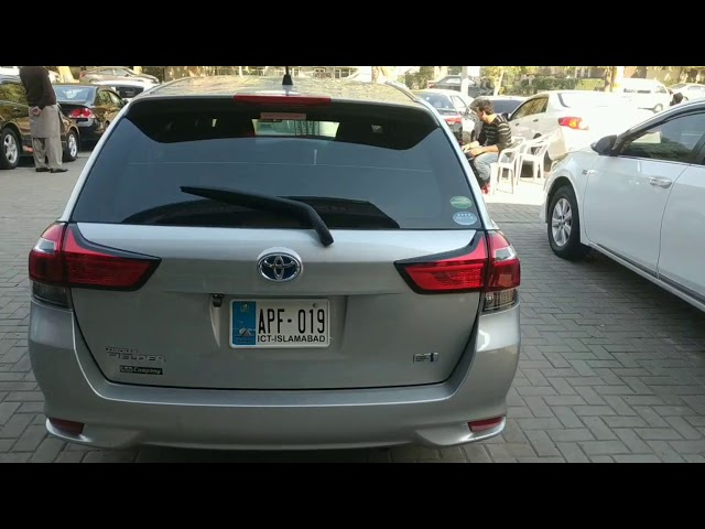 Toyota Corolla Fielder Hybrid 2017 for Sale in Islamabad