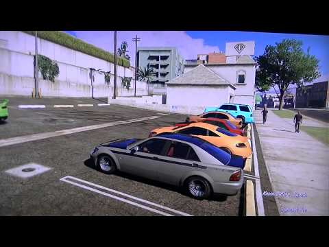 GTA V: Solo Car Show (With Mods)(PS3)