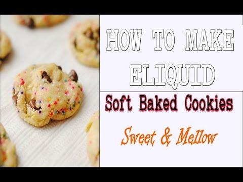 "Video DIY Eliquid  ""Soft Baked Cookies"" 70/30 Original Recipe [Full Flavor Cookie DIY ejuice]"
