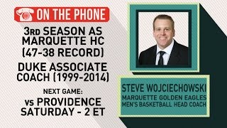 Gottlieb: Steve Wojciechowski talks Marquette basketball