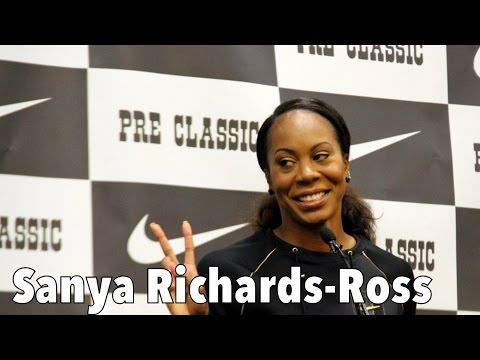 Sanya Richards-Ross - 2016 Pre Classic Interview Part 1