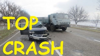 TOP Crashes Car CRASH Compilation 1 02 2017