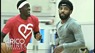 Kyrie Irving, Pascal Siakam, Thomas Bryant + MORE at Rico Hines Private Run