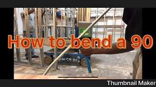 How to bend Back to Back 90 (QUICKTIPS) WATCH NOW !!!!!!!!