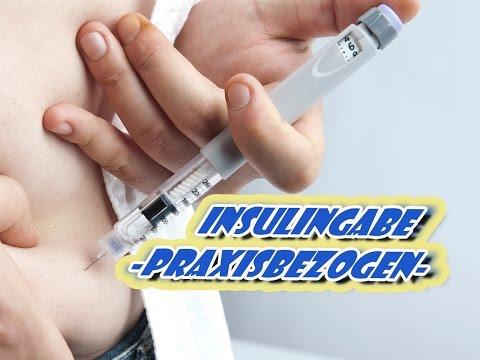 Insulingabe mit einem Pen - Praxisbezogen